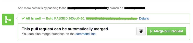 Github Status API Screenshot